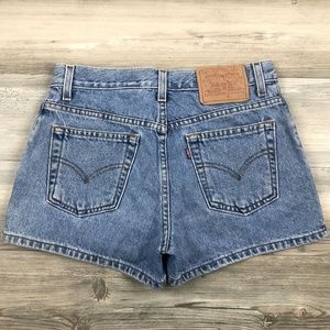 Vintage Levi's High Wasited Mom Shorts 28